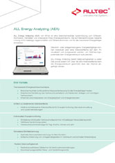 Informationsblatt All Energy Analyzing